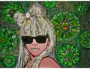 Lady Gaga, artist Jason Mercier