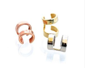 Love & Pieces earcuffs in Gold, Silver and Rose Gold