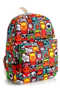 cartoon-figure-collection-print-backpack