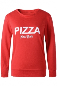 casual-red-pizza-sweatshirt
