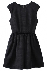 sweet-sleeveless-mini-dress-with-pleated-waist