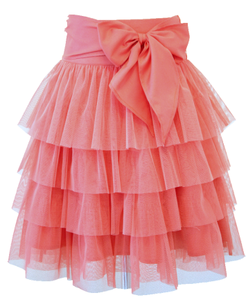 DaisyPetal-tierred_tulle_skirt_coral_front-resized