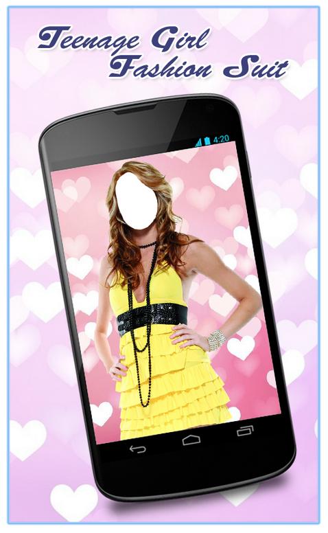 Dress Up Teenage Girl App