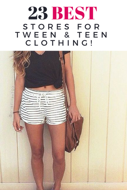Good teenage clothing stores online