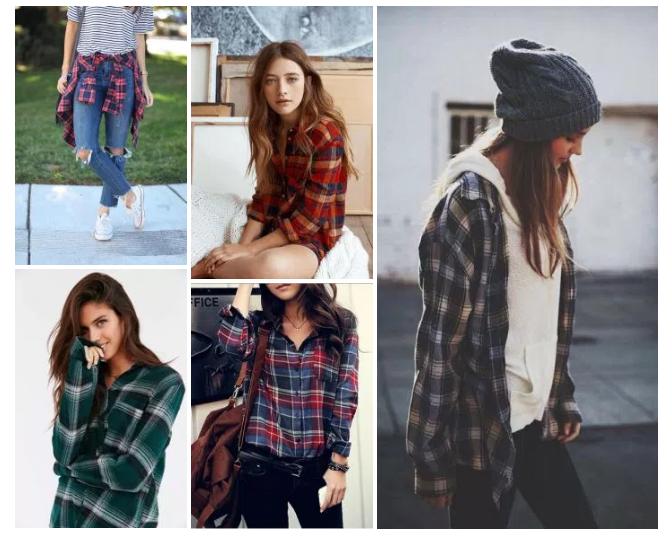 Teen Fashion, Grunge, Fall Winter Trends, Plaid Shirts